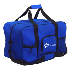 Royal Blue Sports Duffel Bag