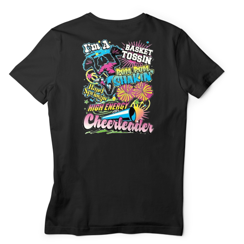 High Energy Cheerleader T-shirt
